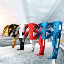 Soporte de botella de agua de bicicleta de Ciclismo MTB, jaulas de manillar de aleación de aluminio, ala de Ángel Multicolor, portabotellas Dropship