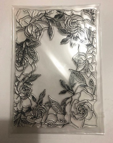 Flower Frame Background  Transparent Clear Stamps  Seal Scrapbook Paper Craft Clear Stamp Scrapbooking X0494