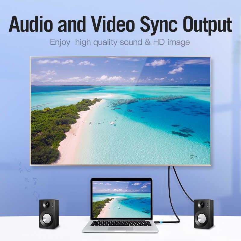 Vention HDMI 2.0 كابل 3D 2160P كابل HDMI 1m 2m 5m 3m 10m 15m مع إيثرنت محول HDMI ل HDTV LCD العارض HDMI 4K كابل