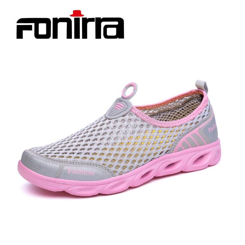 FONIRRA Verano Zapatos Casual Mujer Slip-On Plataforma Pisos Mujer - Zapatos de mujer - foto 1