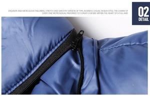 Image 4 - Vestes et manteaux dhiver pour homme, coupe vent à capuche en coton pour homme, 6XL, 7XL et 8XL, décontracté