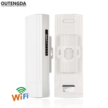 450Mbps 3Km Outdoor CPE AP 5.8Ghz WiFi Bridge Router Wireless Wi-fi Repeater Built-in 14dBi Antenna with Poe Adapter цена в Москве и Питере