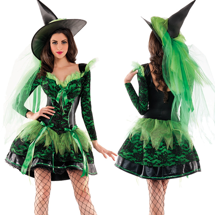 Halloween Witch Costumes Christmas Carnival clothing Fantasia Infantil Adult Fairy Costume Vampire Cosplay Party Dress como vestir con sueter mujer