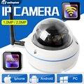 HD 720 P 1080 P Wifi 1.0MP Câmera IP Visão Noturna de Vigilância CCTV Ao Ar Livre À Prova D' Água Inteligente 2MP Câmera IP Sem Fio Onvif XMEye