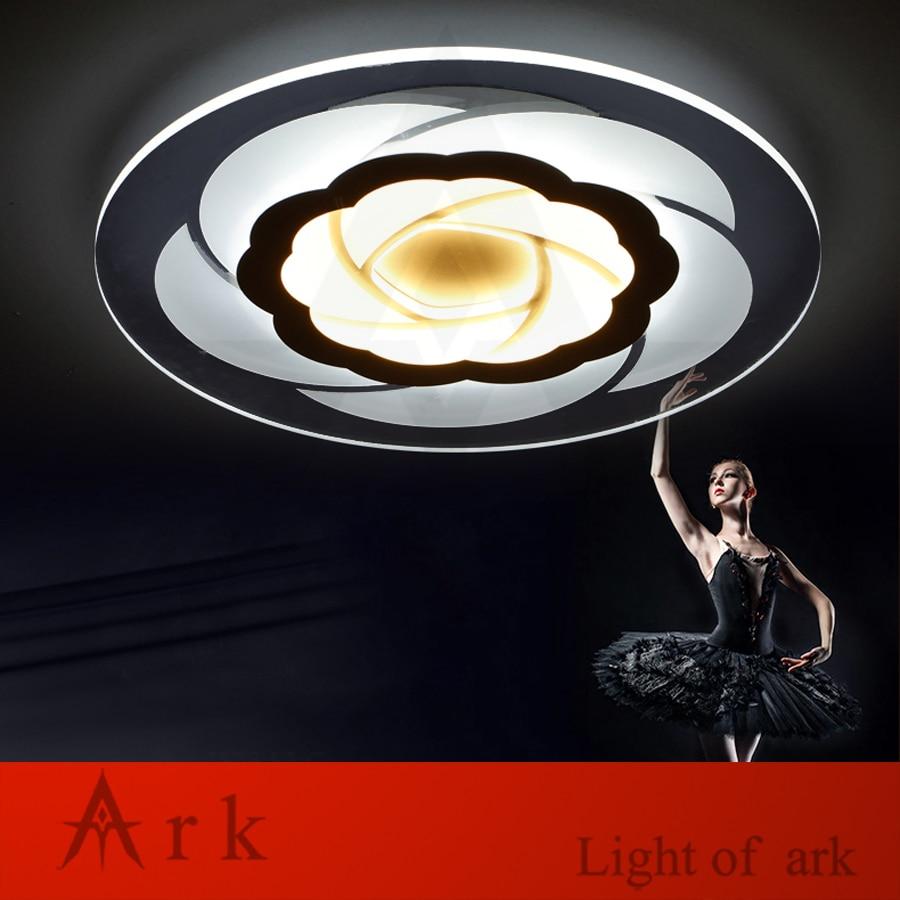 MODERN LED acrylic Minimalism Ultrathin flower ceiling light High brightness Living Study BED Indoor Lighting children Room