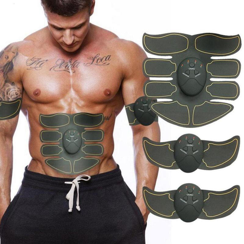 Smart Electric Pulse Treatment Massager Exercise Abdominal Muscle Trainer Wireless Sports Muscle Smart Fitness Body Massager Z4 3pcs set wireless intelligent abdominal muscle trainer lacy body massager fitness equipment for home use for women new arrival