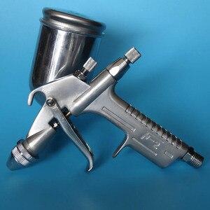 Pistola rociadora Mini rociador cepillo de aire herramienta de pintura de aleación 125ml de alimentación por gravedad aerógrafo muebles penumáticos para pintar coches