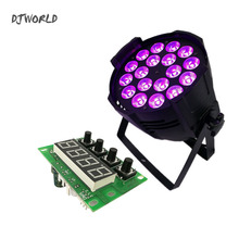 цена на Mainboard LED 18x18W RGBWA+UV Lighting Motherboard  Stage Lights Spare Part Professional LED Part Accessories 6/10 Channel