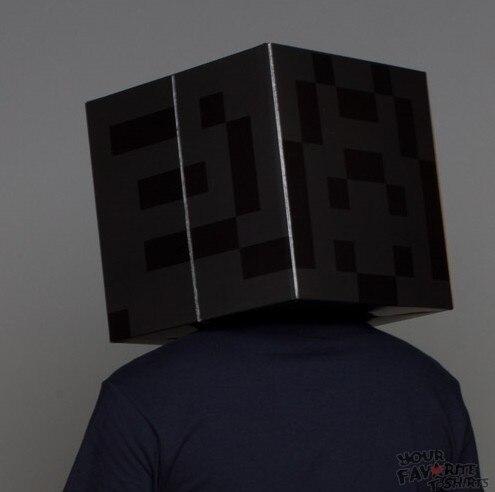 Wholesale Minecraft Mask (10pcs/lot) paper bag Minecraft party ...