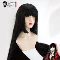HSIU Yumeko Jabami Cosplay Wig Kakegurui Costume Play Wigs Halloween Costumes Hair Free Shipping NEW High
