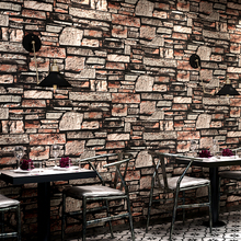 Living Room Restaurant Kitchen Wall Papers Home Decor 3D Brick Wall Faux  Stone Effect Wallpaper Wall Covering Papel De Parede 3D