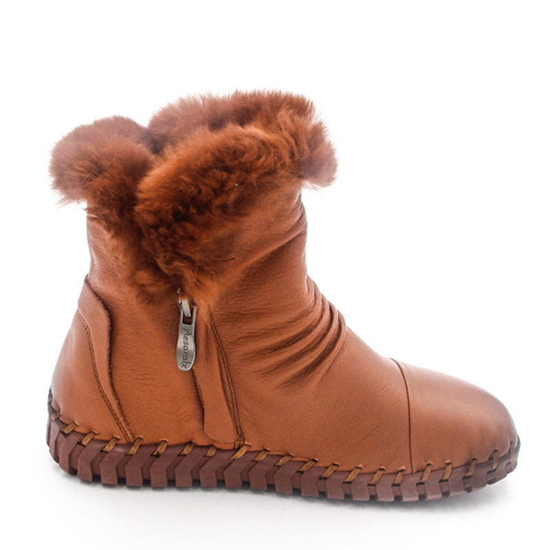 Chaud Véritable Snurulan De Chaussures Cheville Vraie 02 En Femme Cuir 04 01 03 Main Neige Fourrure 2017 Bottes D'hiver 07 Femmes 05 rrO7pqw