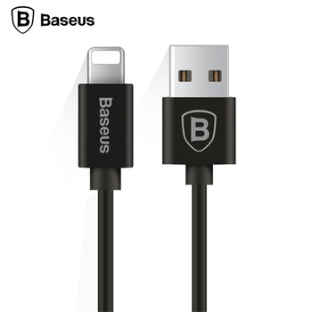 Baseus Retractable Spring 8pin Charging Cable Data Sync USB Charger Cable For iPhone X 8 7 6 5 iPad IOS 9 10 11 Data Sync Cable 4