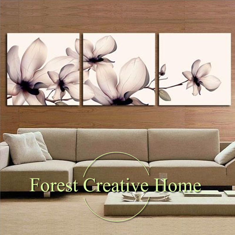 Modern Home Decor Canvas Art Oil Painting Wall Fashion Creative Flower Printed Poster Pictures Wall Decor Canvas Art Painting
