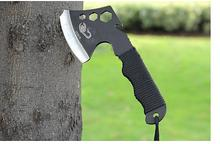 High Quality Portable Outdoor Survival Tools Camping Knife Axe Tactical Tomahawks Survival Multi Tool Cut Rope Mouth