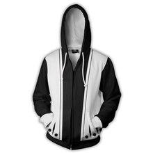 Previous Next Beach Kenpachi Zaraki Printed Hooded Jacket