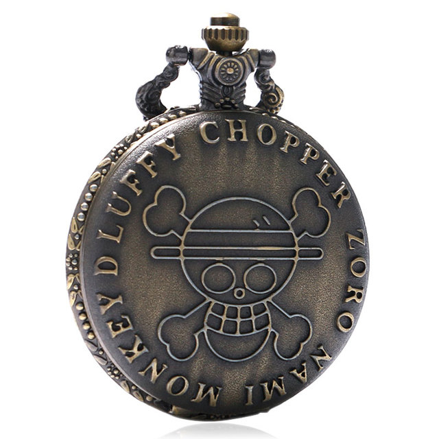 One Piece Bronze Quartz Pocket Watch - One piece ...