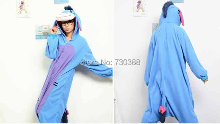 ... Designer Cosplay Anime Animal Eeyore Donkey Pajamas Adult Unisex Women  Men Onesie Christmas Halloween Costumes Pyjama d6d1f5356dfb