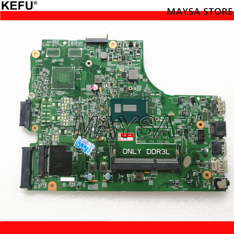 13269-1 For DELL 3542 DELL 3442 Dell 3543 3443 Motherboard 13269-1 PWB FX3MC REV A00 Motherboard 3205U CPU GM Work 100%