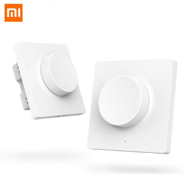 Xiaomi Yeelight Smart Knob Switch Dimmer Switch Wireless Wall Switch Smart Light Remote Control For Yeelight Ceiling Light