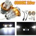 2 x 6000 K 10 w Angel Eyes LED marcador lâmpadas para BMW E90 E91