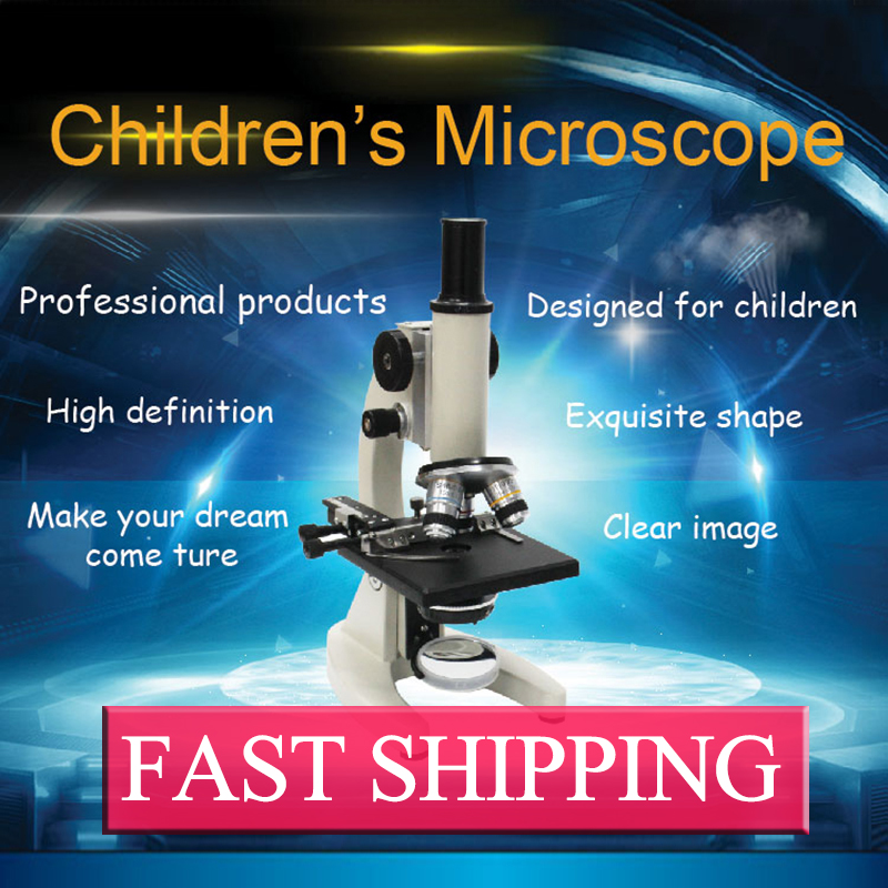 Advanced biological Student Microscope Christmas Gift Biological Student  Children Microscope мирная елена яркие цвета