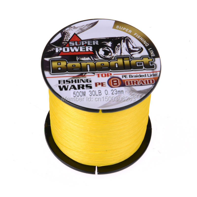 8 Strands 500M Yellow