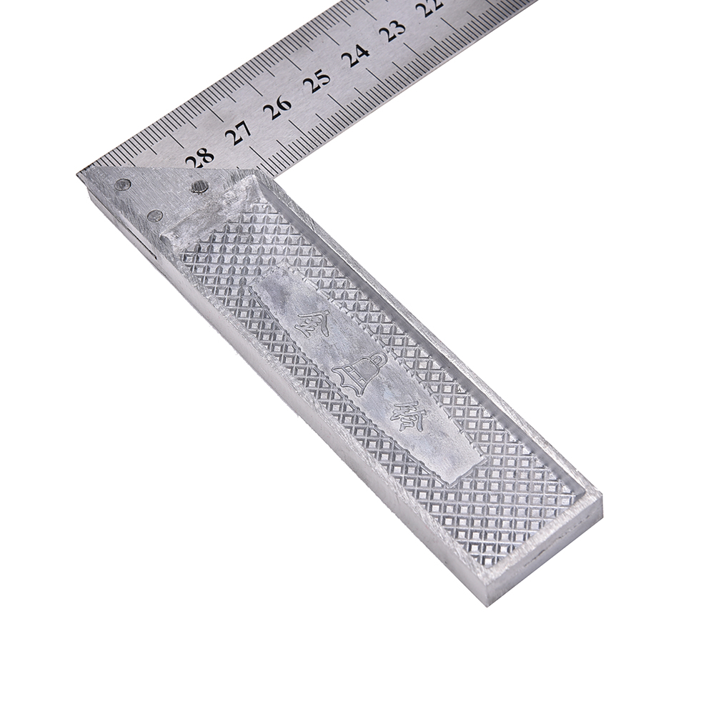 Bekend Weergaloze 30 cm Rvs Haakse Vierkante Heerser Hoek Meten LK79