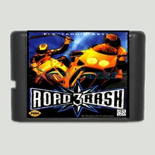 Road Rash 3 16 bits MD Carte de Jeu Pour Sega Mega Drive Pour Sega Genesis