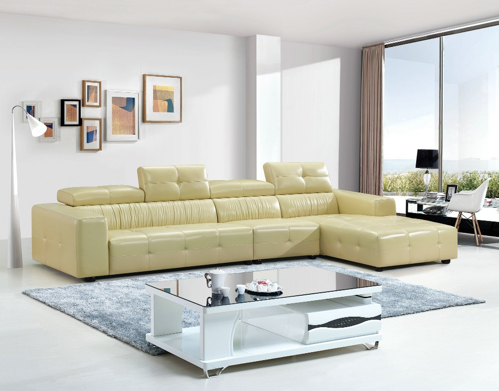 Sofas For Living Room European Style Set Modern No Armchair Bean Bag Chair Living Room Sectional Sofa Furniture Leather Corner