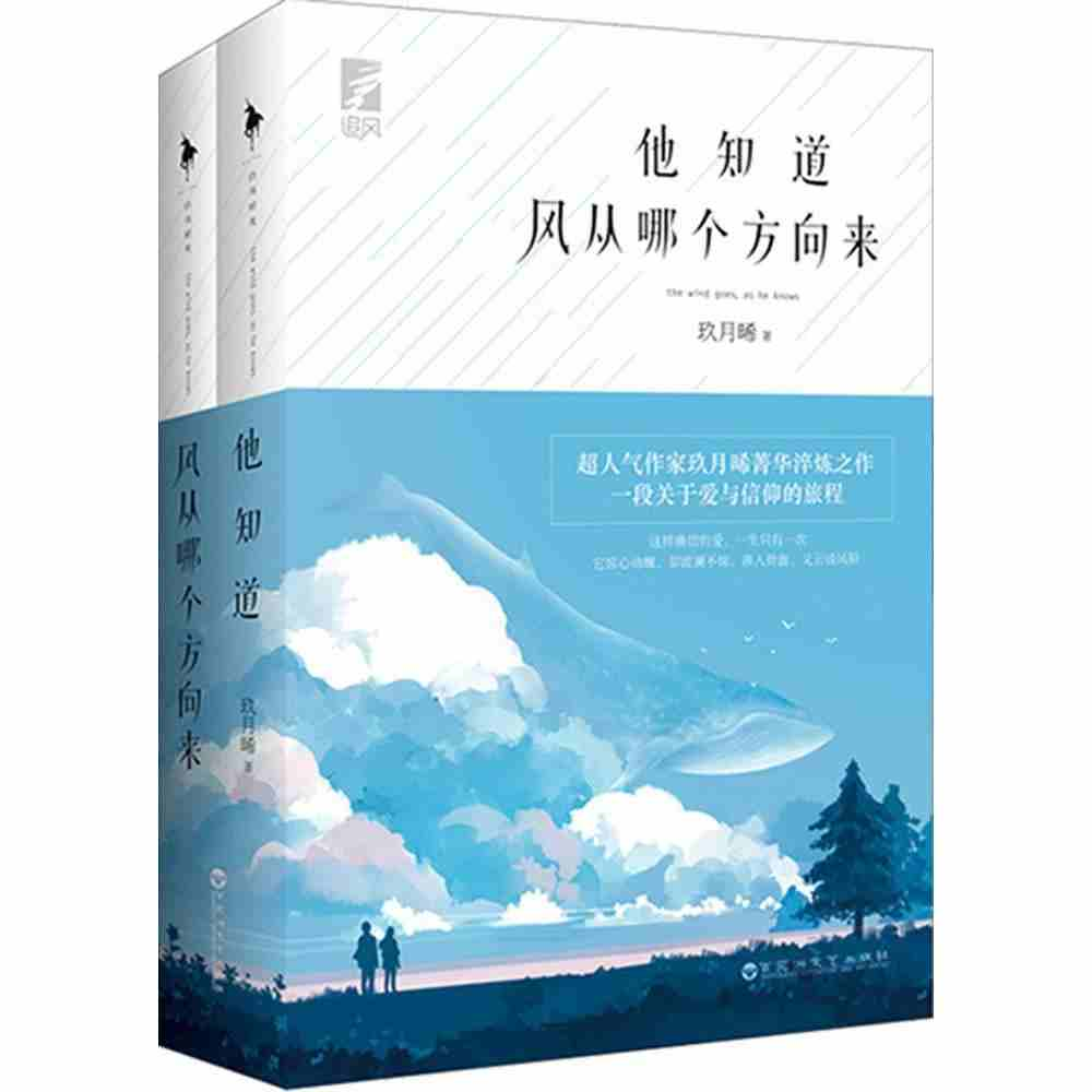 2017 New Chinese Popular Novels Love Stories The Wind Goes As He Knows By Jiu Yue Xi