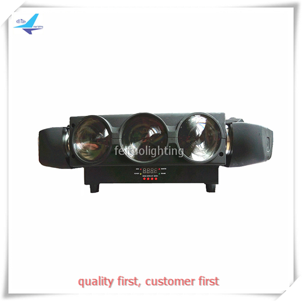 Hot Sell 9 Eyes LED Spider Beam Moving Head Light 9X10W RGBW 4IN1 Quad Color Sky Beam Spider Lighting for Stage Disco Show Party