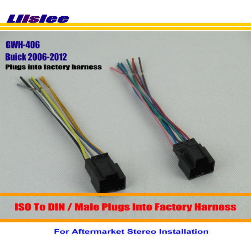 Liislee For Buick Enclave Lucerne Car Radio Cd Player To Stereo Dvd Rhaliexpress: 2006 Buick Lucerne Door Wire Harness Further At Gmaili.net