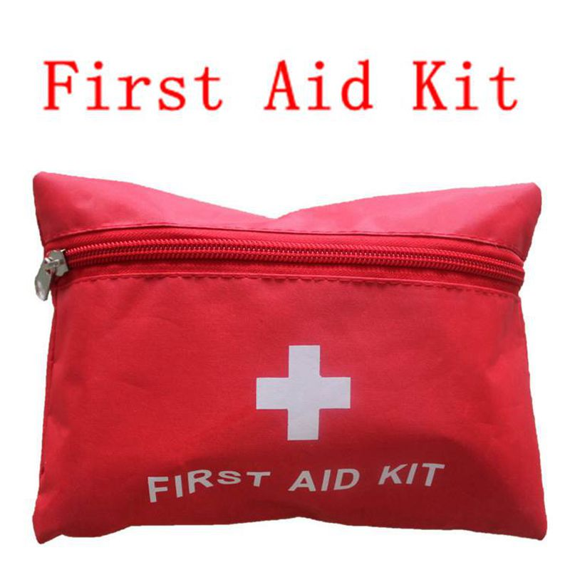 Portable Outdoor Waterproof Person Or Family First Aid Kit For Emergency Survival Medical Treatment Alcohol Pads