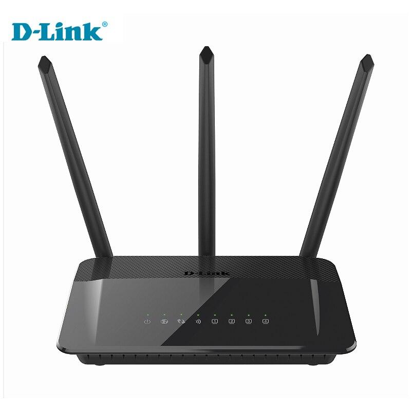 D-Link Original 1750Mbs 5g Modem Home Fiber WiFi Router DIR-859 Russian&English Firmware 2.4G/5Ghz Gigabit Smart Wireless Router