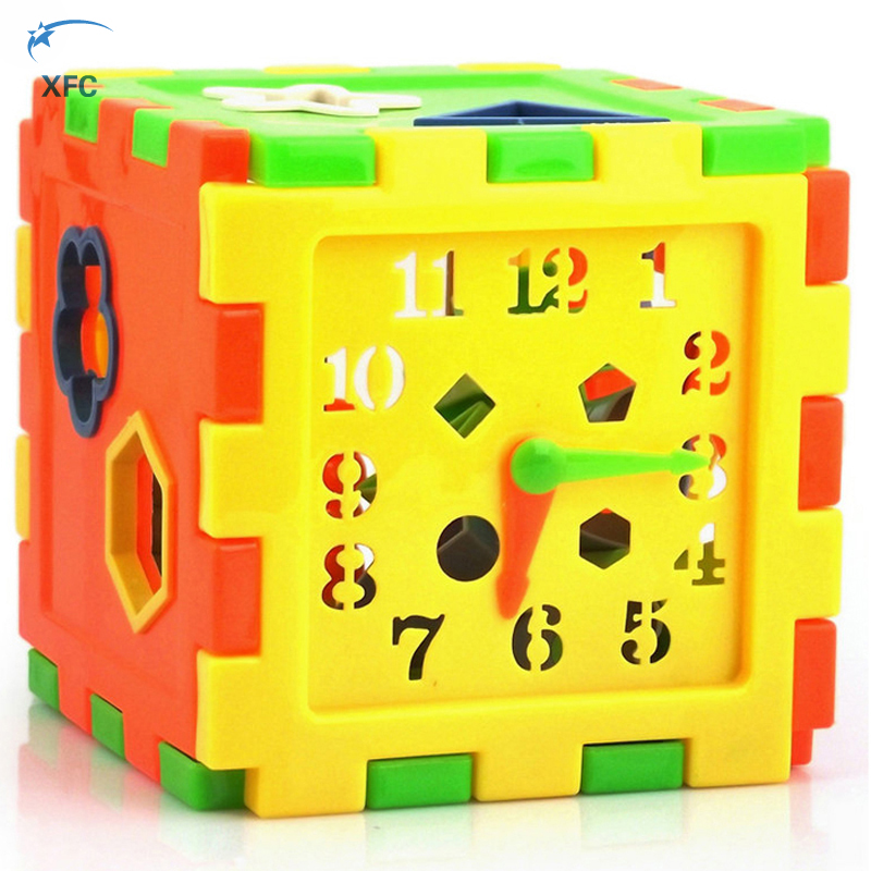 XFC Children Kids Educational 3D Play Game Animal Shape Alphabet Blocks Cube Toddler Baby Toy Gift dayan gem vi cube speed puzzle magic cubes educational game toys gift for children kids grownups