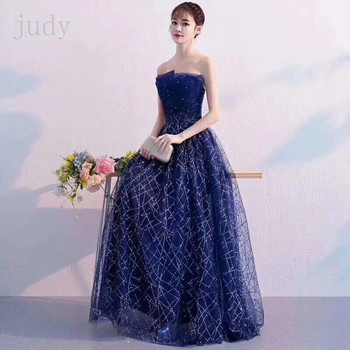 stock CSH57#7 color The irregular lines of sequins are in French fashion  for wedding party wedding dress
