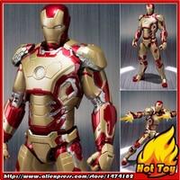 100 Original BANDAI Tamashii Nations S H Figuarts SHF Exclusive Action Figure Iron Man Mark 42