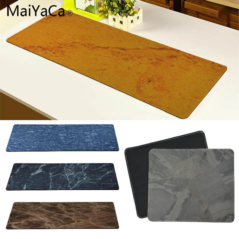 MaiYaCa Fashion Marble texture Customized laptop Gaming mouse pad Size for 180*220 200*250 250*290 300*600 and 300*900*2mm