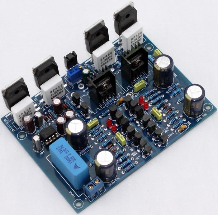 2pcs on tl082 mjw0281 njw0302 a1930 c5171 class a amplifier board mono 100w 4 ohm in. Black Bedroom Furniture Sets. Home Design Ideas