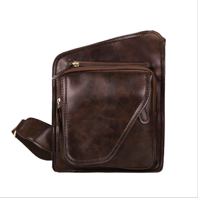 New PU Leather Men Bag Casual Business Leather Mens Messenger Bag Vintage Men's Crossbody Bag Bolsas Male