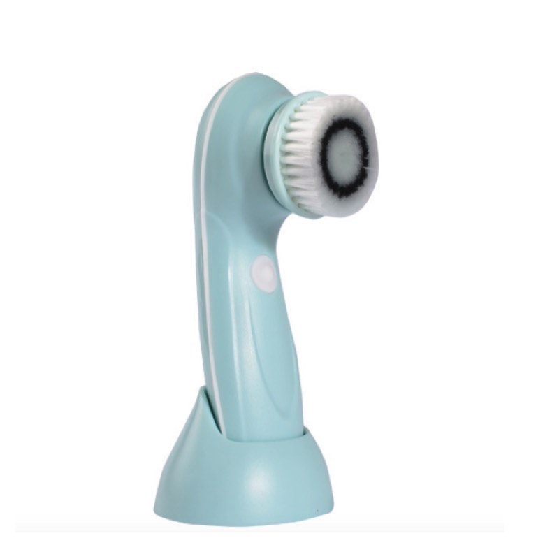 3 in 1 USB Rechargeable Facial Cleanser 2 Speed Face Cleaning Rotary Brush BlackHead Clean Machine deep face cleansing brush facial cleanser 2 speeds electric face wash machine