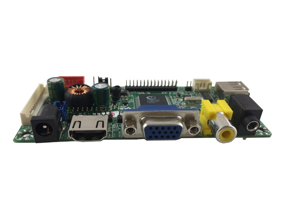 HDMI VGA AV Audio LCD controller board support Resolution Up to 1920X1200 60Hz