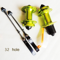 original Quando disc cassette 32 hole mountain bike aluminum alloy beads quick release MTB hub