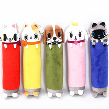New Arrive 1Pc 42Cm 5 Colors Cylinder Plush Cat Pillow Car Cushion Creative Stuffed Cute Pussy