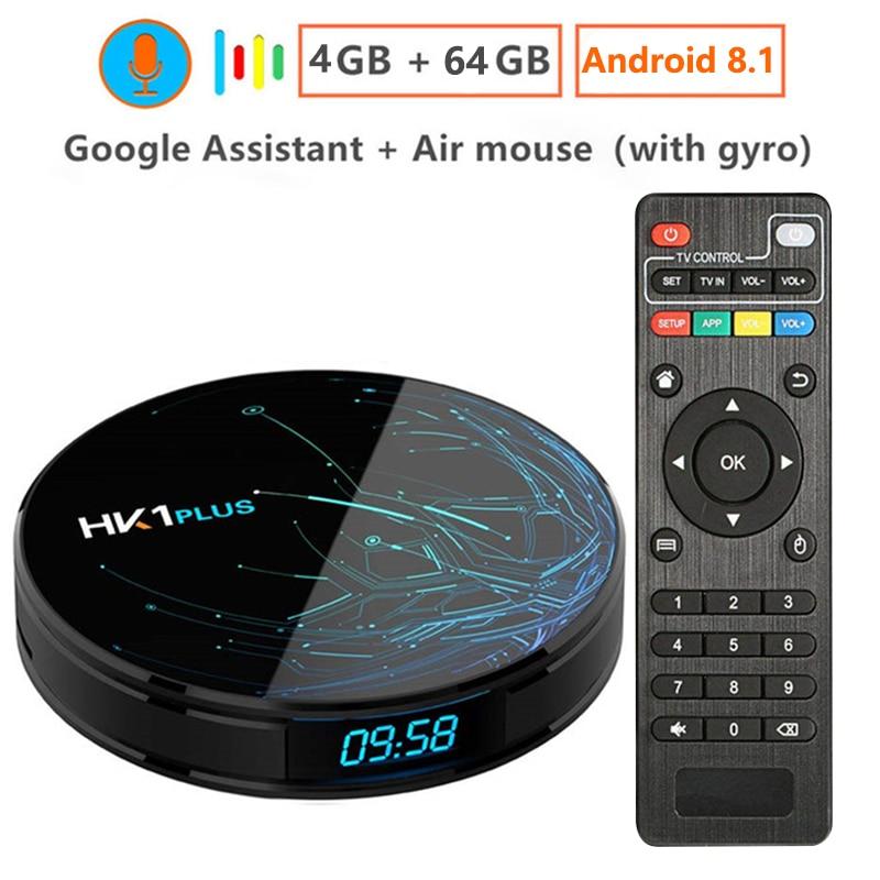 Smart TV BOX Android 8.1 S905X2 2G 16G, 4G 32G, 4G 64G,4K Wifi 2.4G&5.8G Media player Fast Set top Box IPTV app google box
