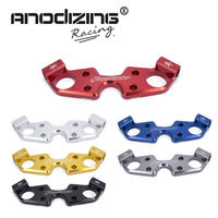 FREE SHIPPING black gold red blue For SUZUKI GSXR1300 2008 2009 2010 2015 Lowering Triple Front End Upper Top Clamp