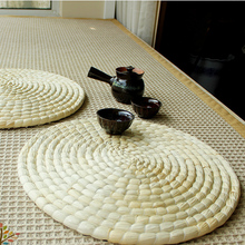New Arrived Corn Husk Straw Zafu Meditation Cushion Round Japanese Tatami Futons Seat Cushions