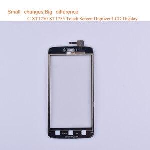 "Image 3 - Super Qualität 5,0 ""Für Motorola Moto C Touch XT1750 XT1755 XT1754 XT1756 Touchscreen Digitizer Front Glas Panel Sensor schwarz"