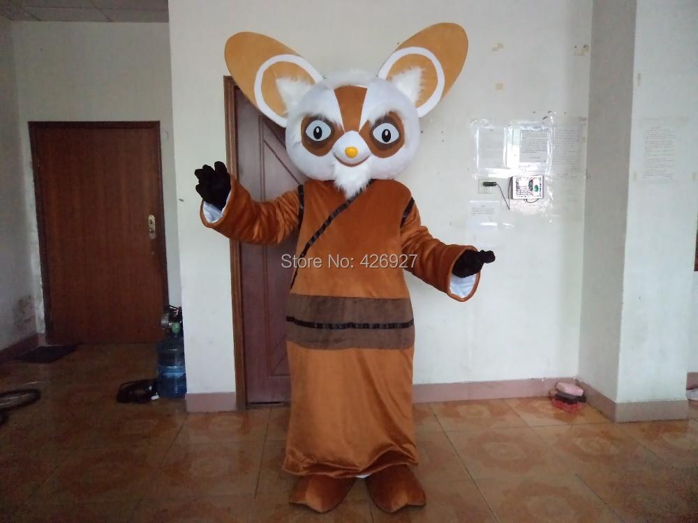 halloween carnival props master of kung fu panda mascot cartoon mascot performance clothing adult size free - Kung Fu Panda Halloween
